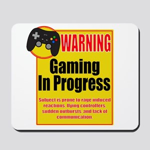 Gaming In Progress Mousepad