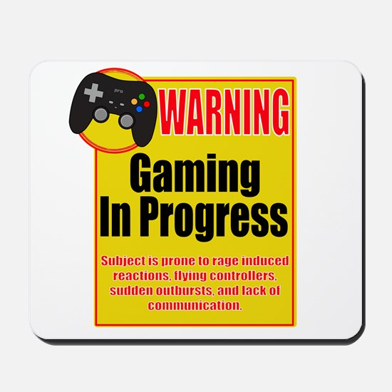 Gaming In Progress Mousepad