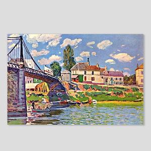 Bridge at Villene - Impre Postcards (Package of 8)