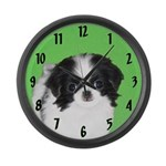 Japanese Chin Large Wall Clock