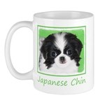 Japanese Chin 11 oz Ceramic Mug