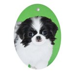 Japanese Chin Oval Ornament