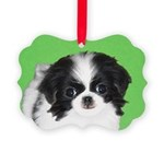 Japanese Chin Picture Ornament