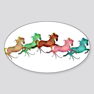 amany horses Sticker