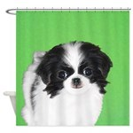 Japanese Chin Shower Curtain