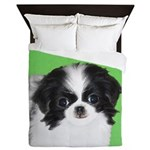 Japanese Chin Queen Duvet
