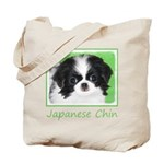 Japanese Chin Tote Bag