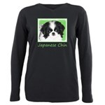 Japanese Chin Plus Size Long Sleeve Tee