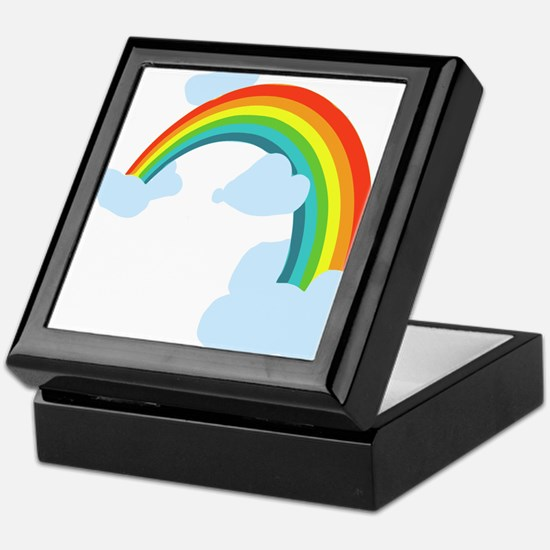 Unique Rainbow Keepsake Box