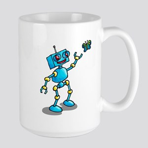 robot and butterfly comic life is beautiful Mugs