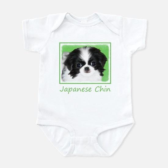 Japanese Chin Baby Light Bodysuit
