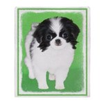 Japanese Chin Throw Blanket