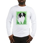 Japanese Chin Long Sleeve T-Shirt