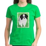 Japanese Chin Women's Dark T-Shirt