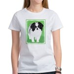 Japanese Chin Women's Classic White T-Shirt