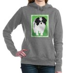 Japanese Chin Women's Hooded Sweatshirt