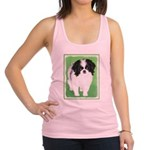 Japanese Chin Racerback Tank Top