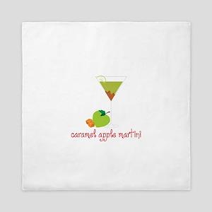 Caramel apple martini Queen Duvet