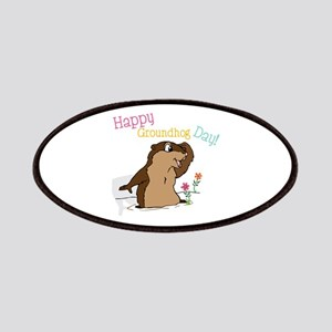 Happy Groundhog Day Patches