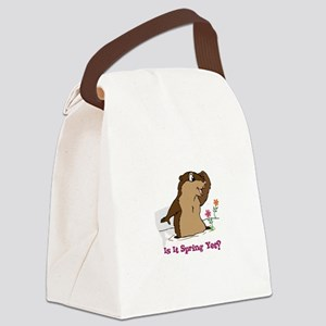Is It Spring Yet Canvas Lunch Bag