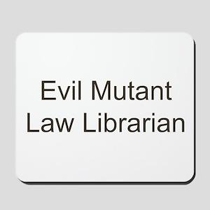 EM Law Librarian Mousepad