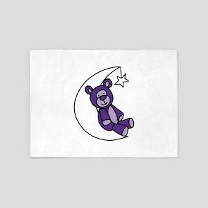 Sweet Dreams Bear 5'x7'Area Rug