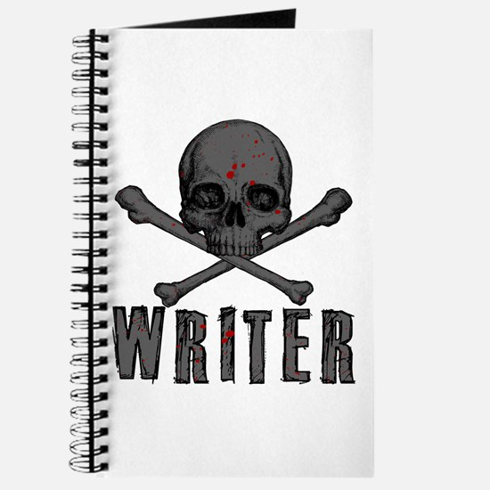 Writer-Skull-Splatter Journal