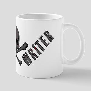 Writer-Skull-Splatter Mugs