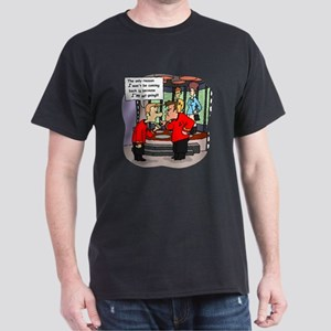 Not Coming Back Redshirt Cartoon T-Shirt