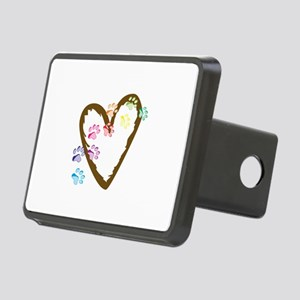 paw hearts Hitch Cover