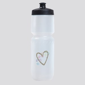 paw hearts Sports Bottle