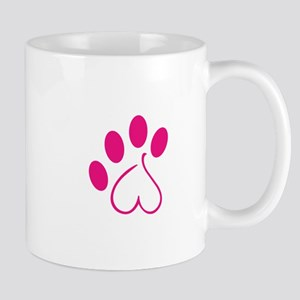 Dog Paw Mugs