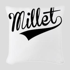 Millet, Retro, Woven Throw Pillow