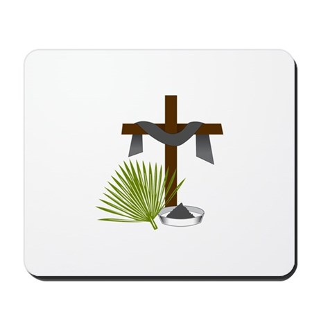 Forgiveness Cross Mousepad By Concord8