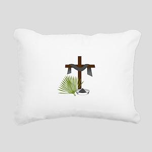 Forgiveness Cross Rectangular Canvas Pillow