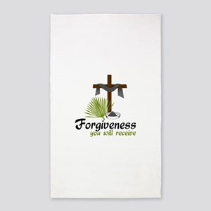 Forgiveness You Will Receive 3'x5' Area Rug