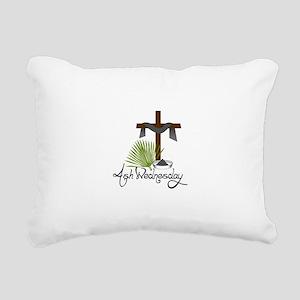 Ash Wednesday Rectangular Canvas Pillow