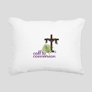 Call To Conversion Rectangular Canvas Pillow