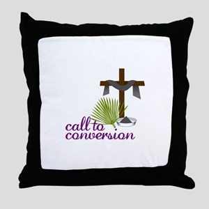 Call To Conversion Throw Pillow