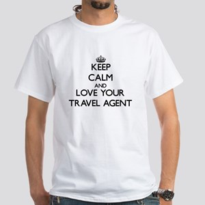 Keep Calm and Love your Travel Agent T-Shirt
