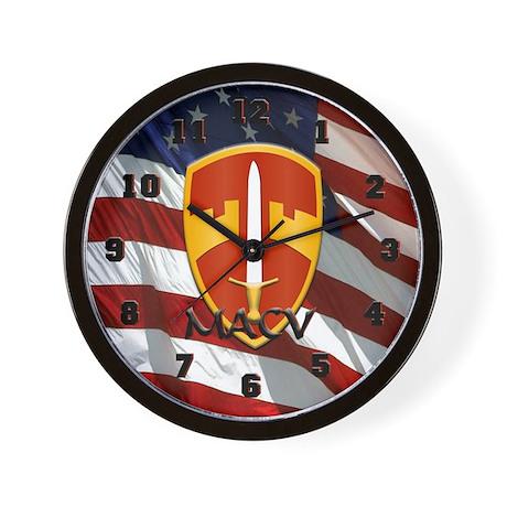 MACV Wall Clock