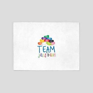 Team Jelly Bean 5'x7'Area Rug