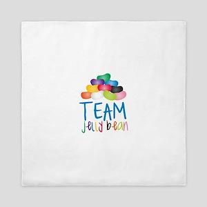Team Jelly Bean Queen Duvet