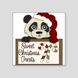 Sweet Christmas Treats Panda Sticker