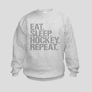 Eat Sleep Hockey Repeat Sweatshirt