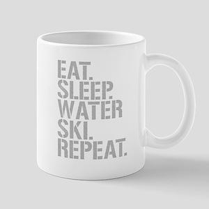 Eat Sleep Waterski Repeat Mugs