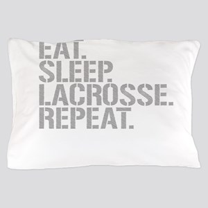 Eat Sleep Lacrosse Repeat Pillow Case