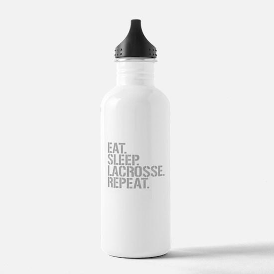 Eat Sleep Lacrosse Repeat Water Bottle