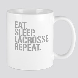 Eat Sleep Lacrosse Repeat Mugs