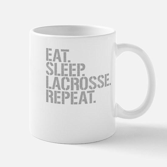Eat Sleep Lacrosse Repeat Mugs